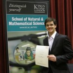 Rewarded for excellence at King's – myScholarship